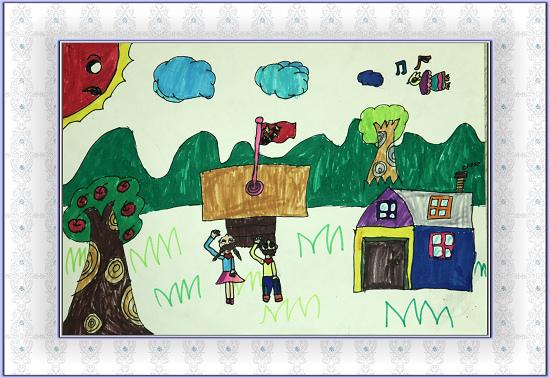 少儿绘画比赛少儿组获奖作品展